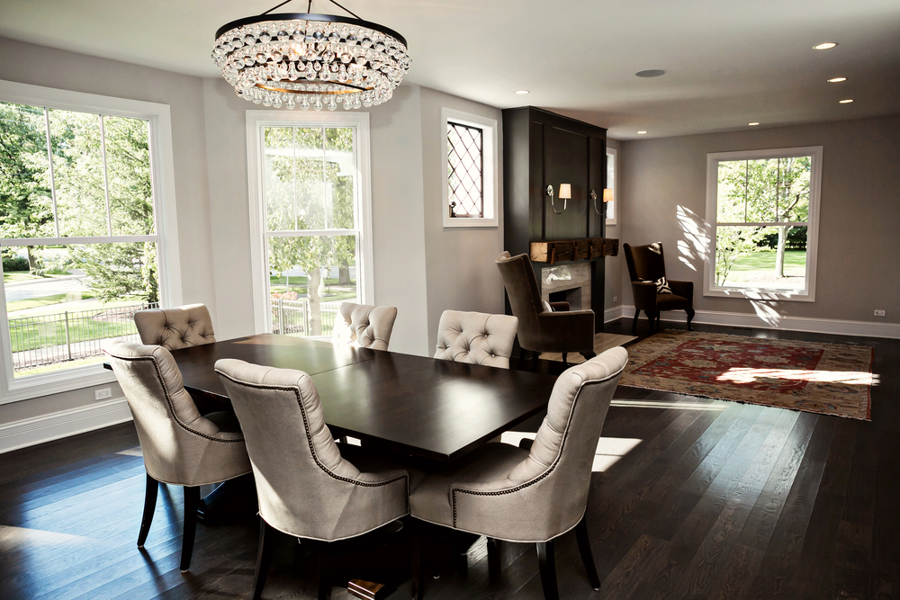Dining Room + Living Room