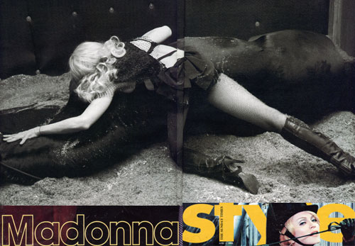 Madonna Sunday Times UK