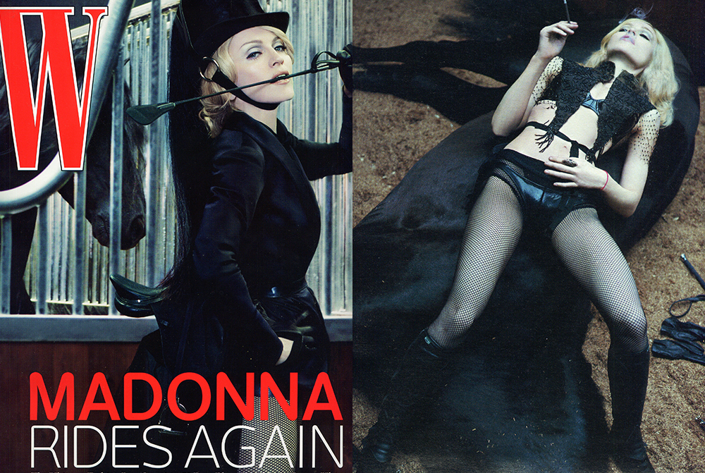 Madonna W magazine USA