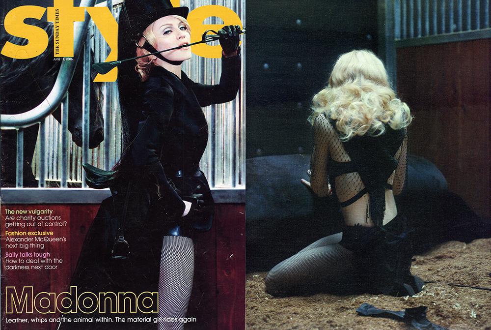 Madonna Sunday Times