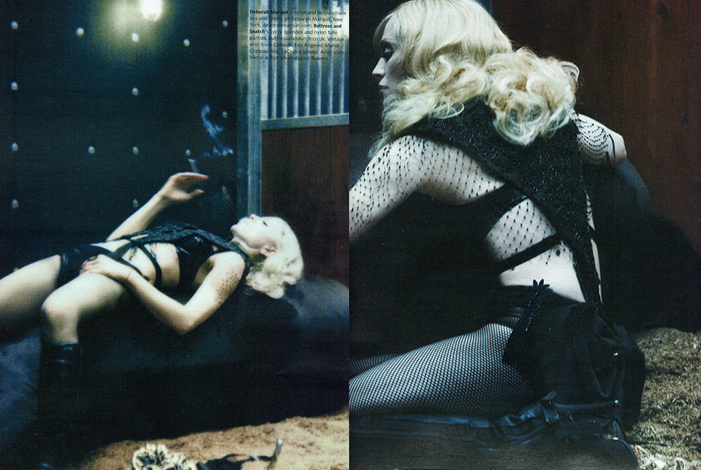 Madonna W magazine