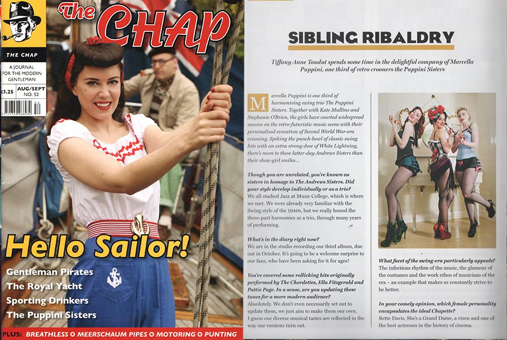 Puppini Sisters Chap Magazine