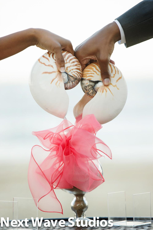 BEACH WEDDING OCEAN CITY MARYLAND BAREFOOTBRIDE