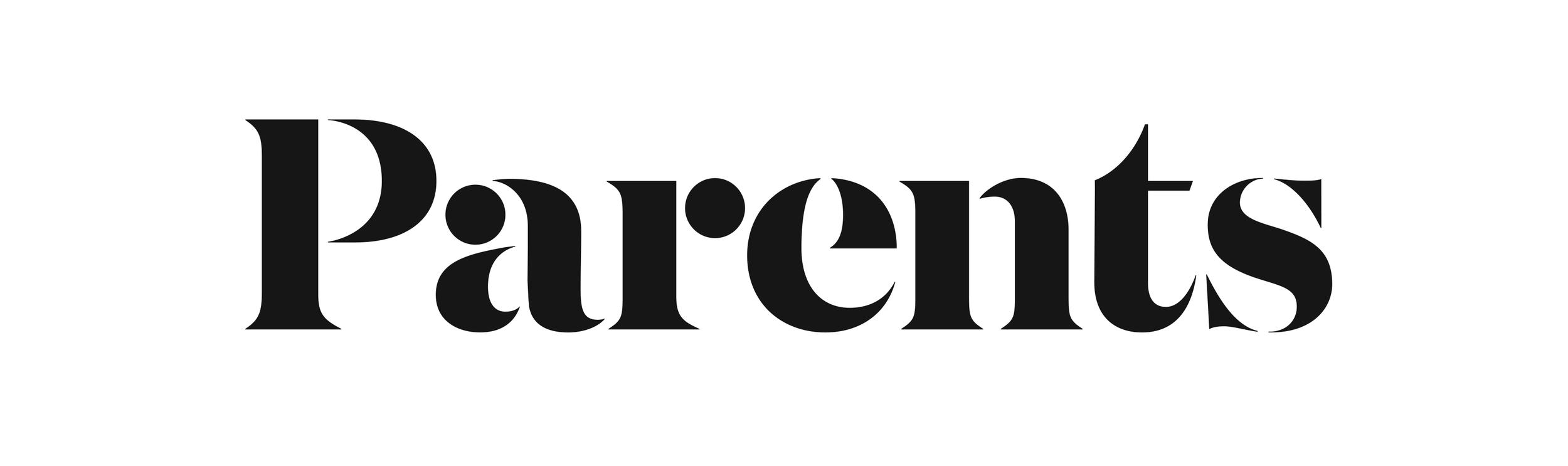Parents Magazine Logo — X