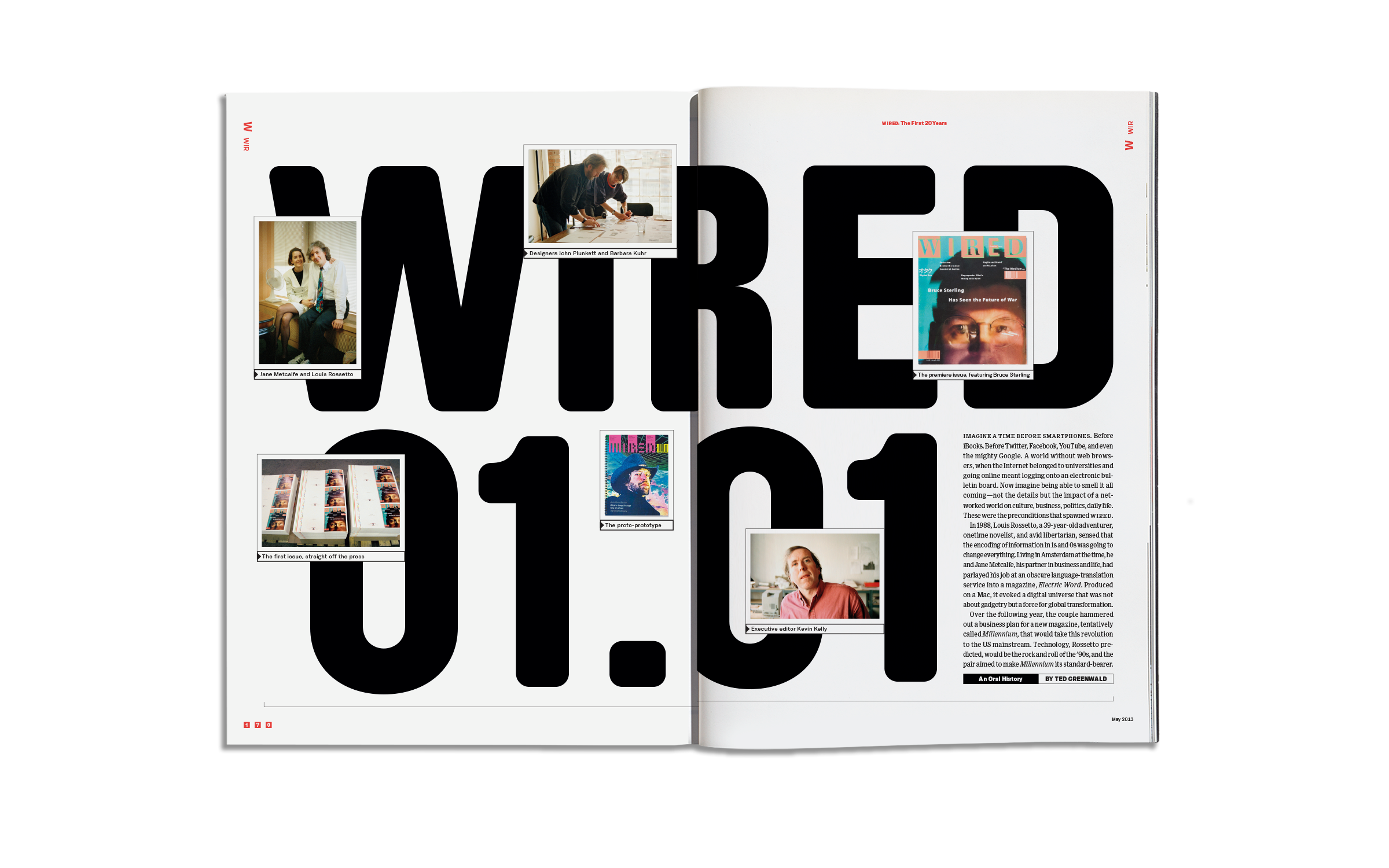 20th Anniversary Issue, Wired — X