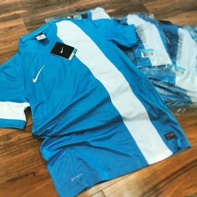 We've got a full set of these bad boys (11 Jerseys) going for just £49 for the lot. Email us at simon@patriotsports.co.uk and get 'em before they're snapped up #Nike #EndofSeason #NikeFootball #TeamNike #StrikerJersey #NikeSale