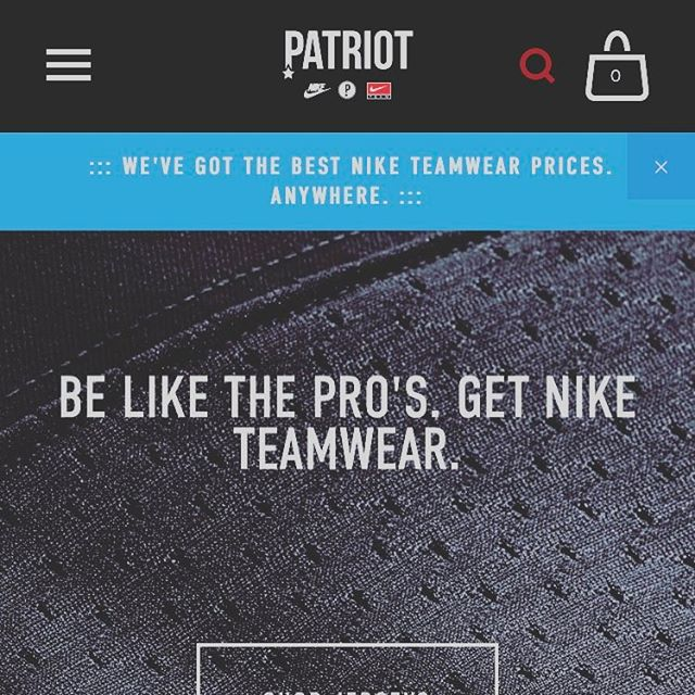 The best prices ANYWHERE & easy to order straight from your iPhone/iPad. Even got ApplePay too. Come take a look. #TeamPatriot #TeamNike #NikeFootball #NikeTeamwear #NikeFootballKit #FootballKit #TeamKit #NikeKit