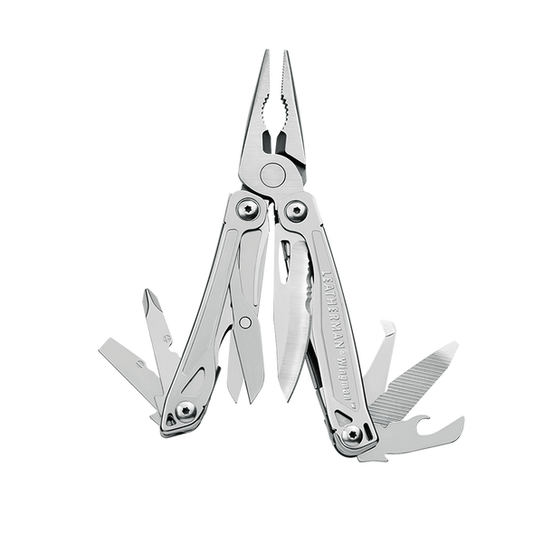 Spring–assisted pliers, a must–have.