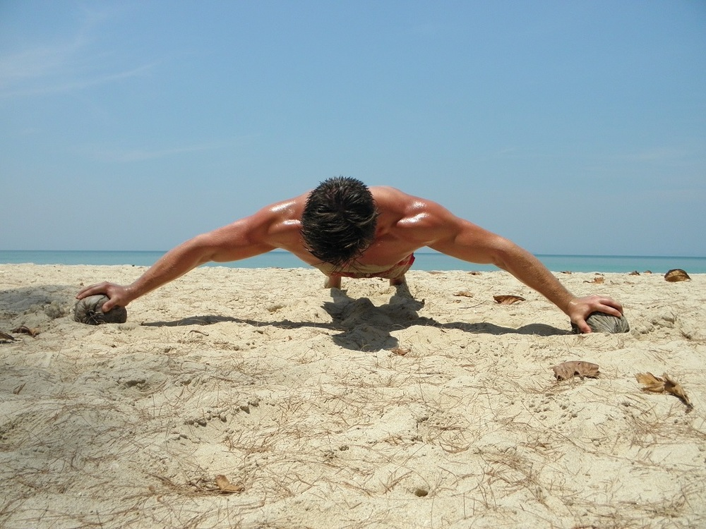 Crusifix push-up