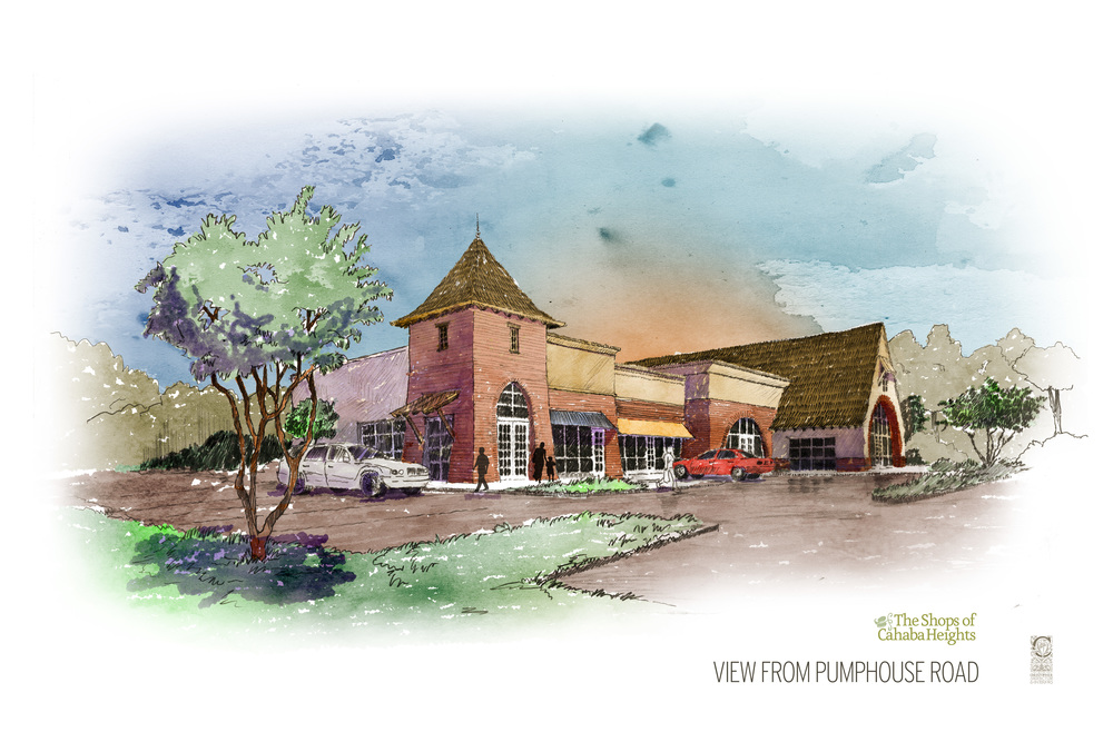CAHABA HEIGHTS SHOPPING CENTER
