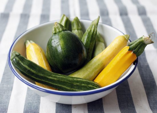 Shaved Summer Squash Salad — The Jewels of New York