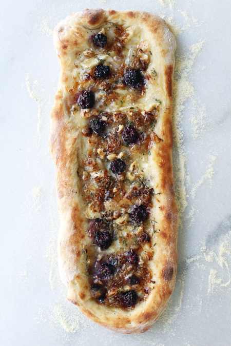 Blackberry Brie Pizza