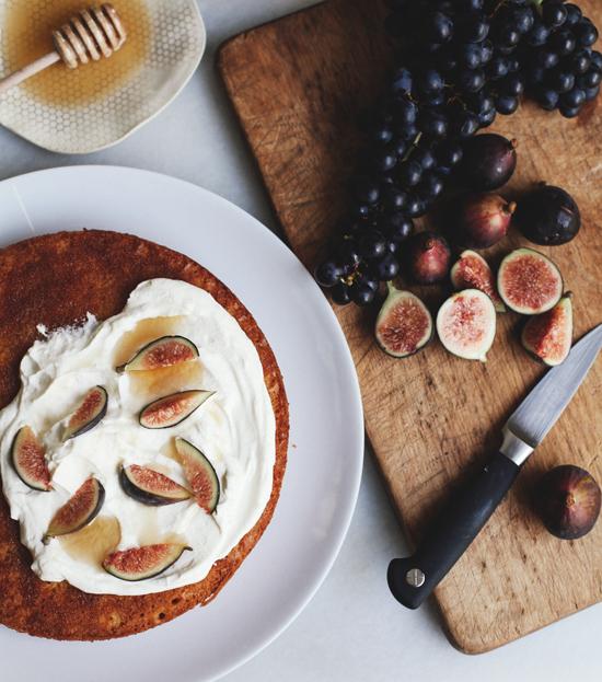 Fig Olive Oil Cake