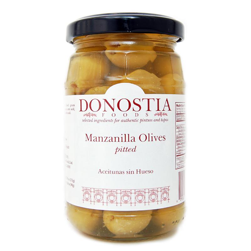 Donostia Foods Manzanilla Olives