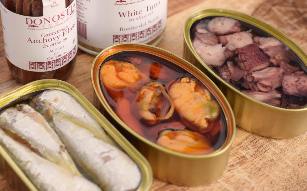 Donostia Foods Spanish Tinned Seafood