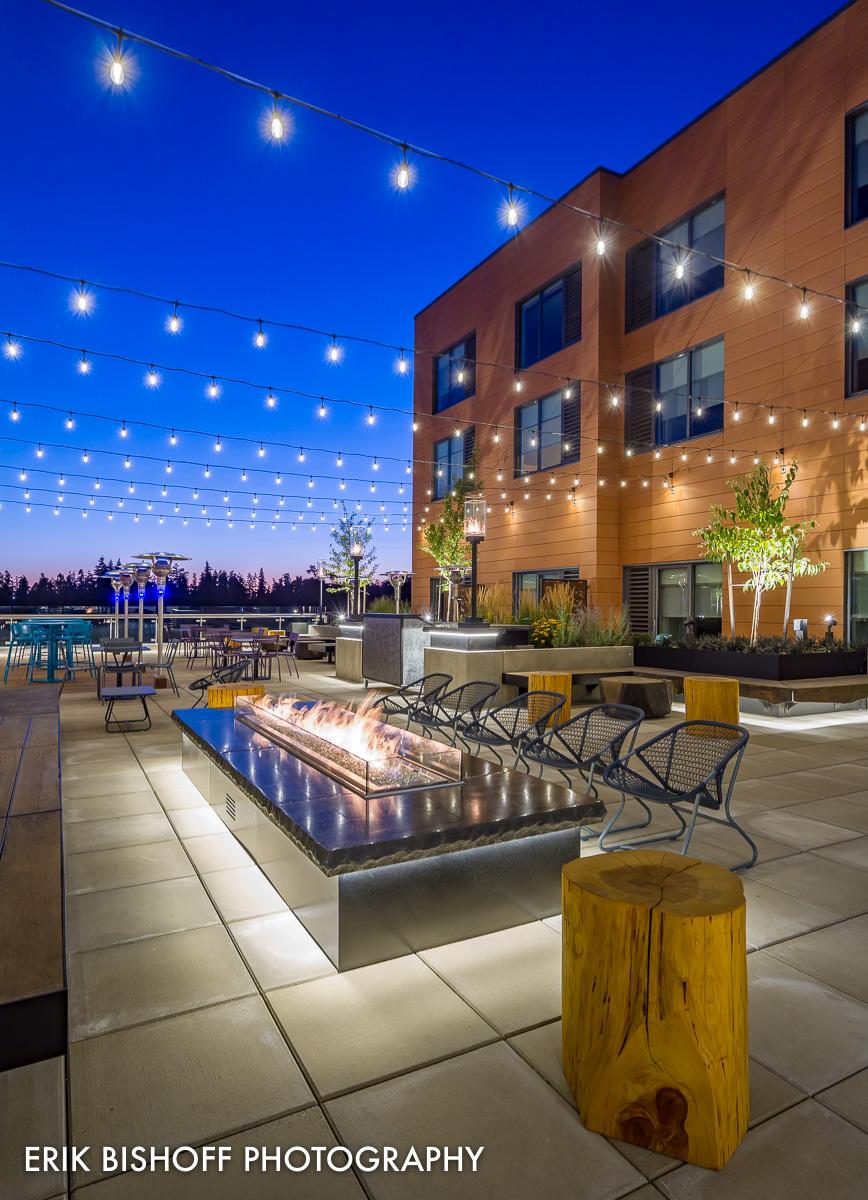 Hyatt Place Hotel - Eugene Oregon  Image © 2017 Erik Bishoff