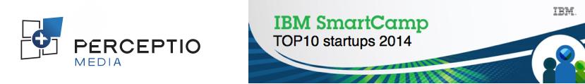 PERCEPTIO Media fait partie du TOP10 des startups les plus innovantes en 2014 selon IBM.