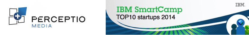 PERCEPTIO Media dans le TOP10 des start-ups innovantes selon IBM en 2014.