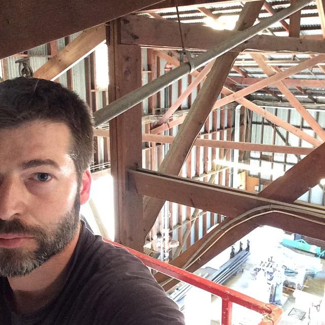 Matt in the Rafters.jpg