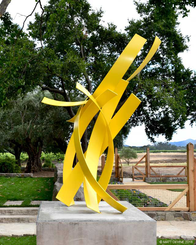 MAYBELLE, 2016, St. Helena, CA, 114H x 50W x 60D, aluminum with powdercoat