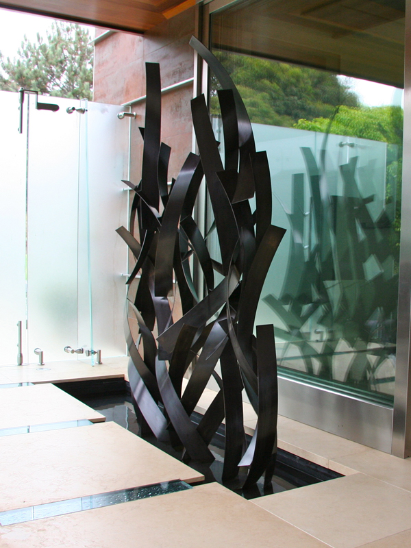 Untitled Installation 2012, bronze, 84H x 72W x 16D