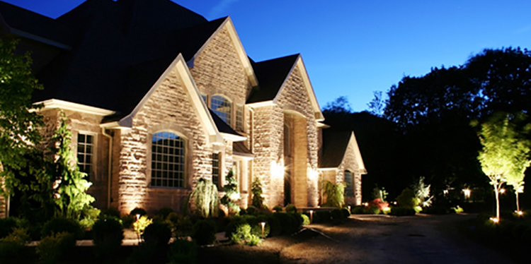 Landscape lighting the woodlands tx