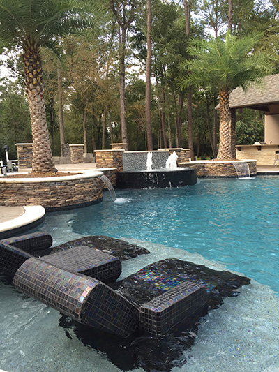 Custom Pool Design & Installation - The Woodlands, Conroe, Spring ...