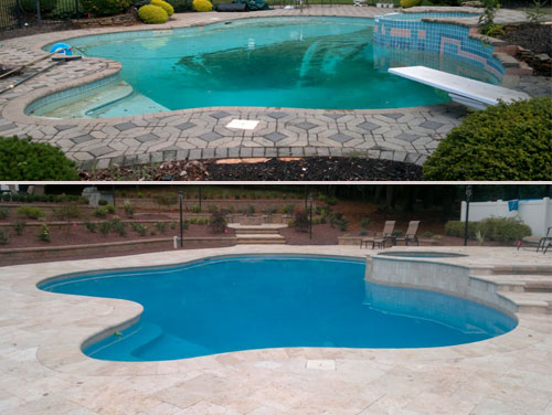 Does Your Pool Need A New Look? Turn What Was Once Nice Into Your Dream Pool  Or Backyard Oasis! Remodels Can Range From The Simple   Such ...