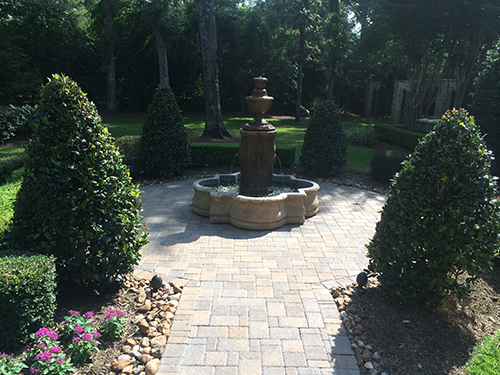 Water-feature-fountain-tiered-formal-pavers-holly-trees-envy-the-woodlands-spring-conroe.jpg