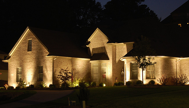 Landscape Lighting Design Woodlands, Tx