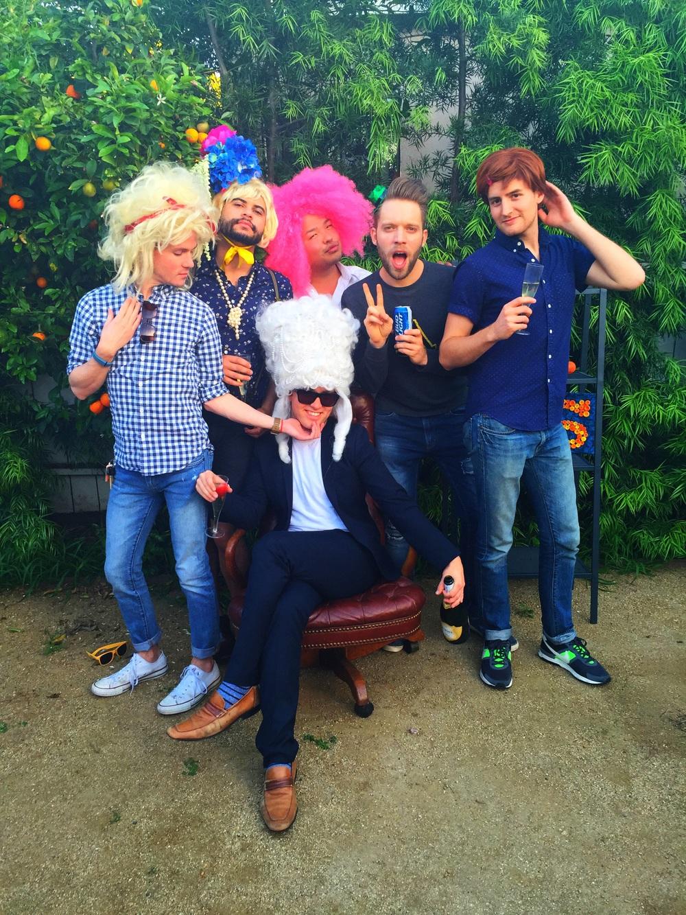 sean's wig party