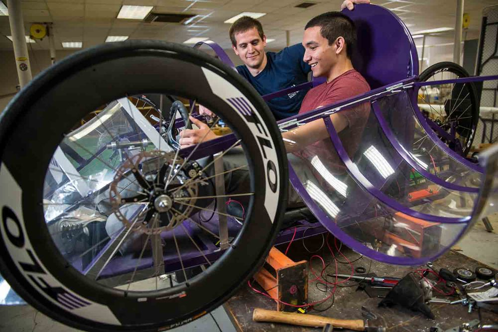 University_of_Evansville_vehicle_competition
