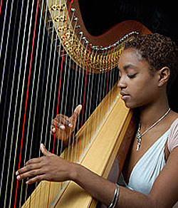 Harpist, Ashley Jackson