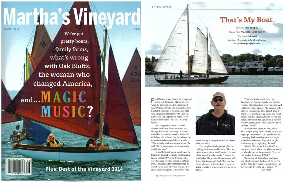 Article in the Martha's Vineyard Magazine