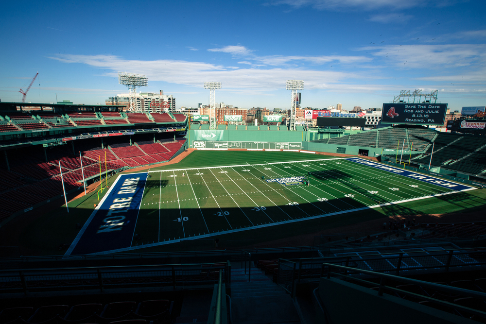Football at Fenway 2015