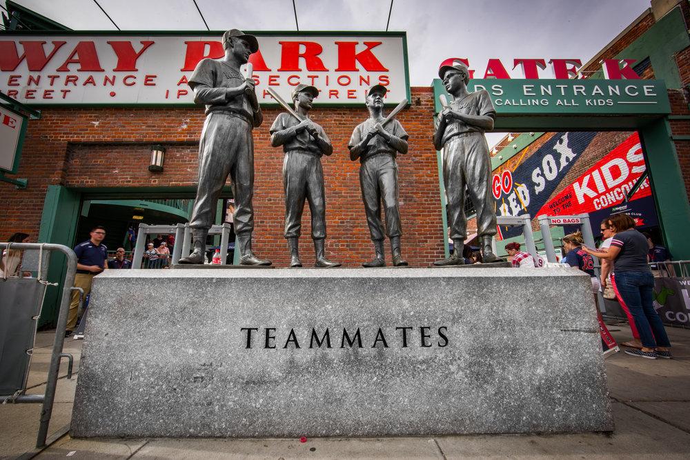 Fenway Park Teammates Statue