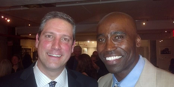 Keith with Congressman Tim Ryan, Department of Veterans Affairs