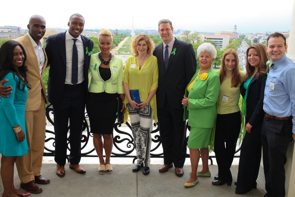 Keith & Syreeta Mitchell Celebrating 2015 Mental Health Awareness month on Capitol Hill
