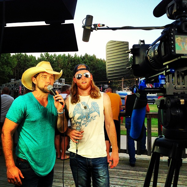 Mckenzie's Mill Interview @ Country Jam - 2013