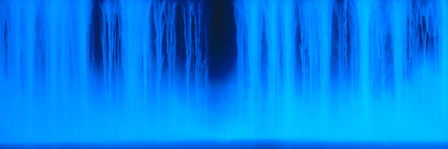 Hiroshi Senju   Nightfall 2007    I watched 'Anna Karenina' this weekend, and saw some videos of Anish Kapoor on youtube.  Ive been tensing my brain, to figure out what to make or do next.  And I think that all we can do, is make something that we can give, refined and sophisticated, so it can be gratefully received and appreciated.