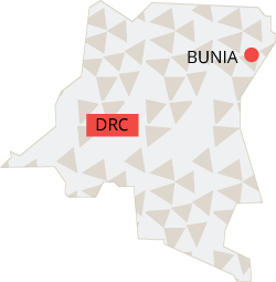 Bunia, Democratic Republic of Congo.