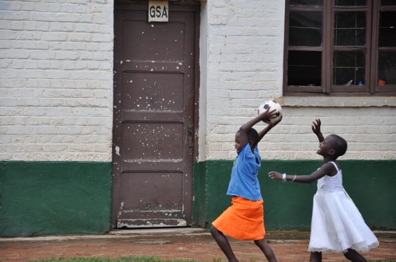 Making time to play for kids impacted by war is a high priority for Congo Kids Initiative.