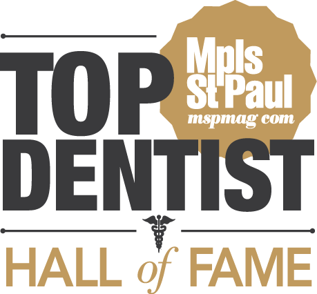 Minneapolis | Saint Paul Magazine - Dr. Lorentzen is a member of the Top Dentist Hall of Fame - awarded for years of exceptional dentistry.