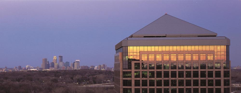 Minneapolis Skyline Golden Valley Dental Practice