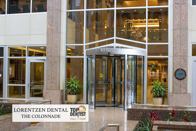 The Colonnade Foyer Golden Valley Dental Practice
