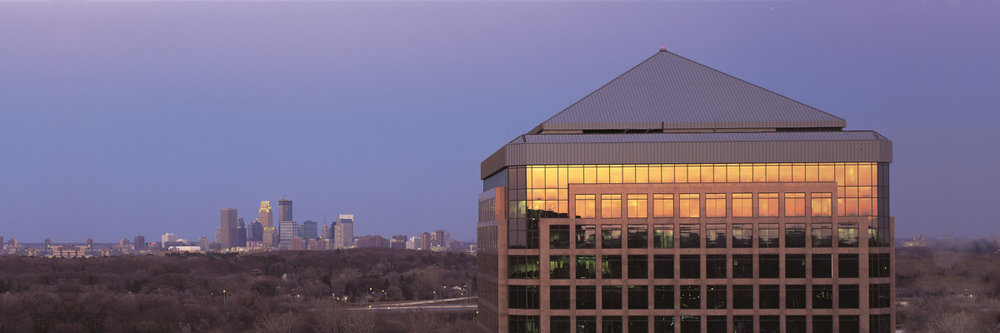 Lorentzen Dental is Conveniently located in the Pentair | Colonnade Building (pictured), minutes from Downtown Minneapolis