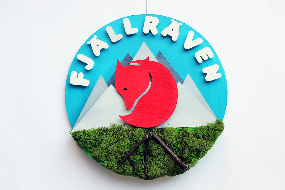 Fjällräven Three Dimensional Design Visual presentation, hand craft, 3D Design