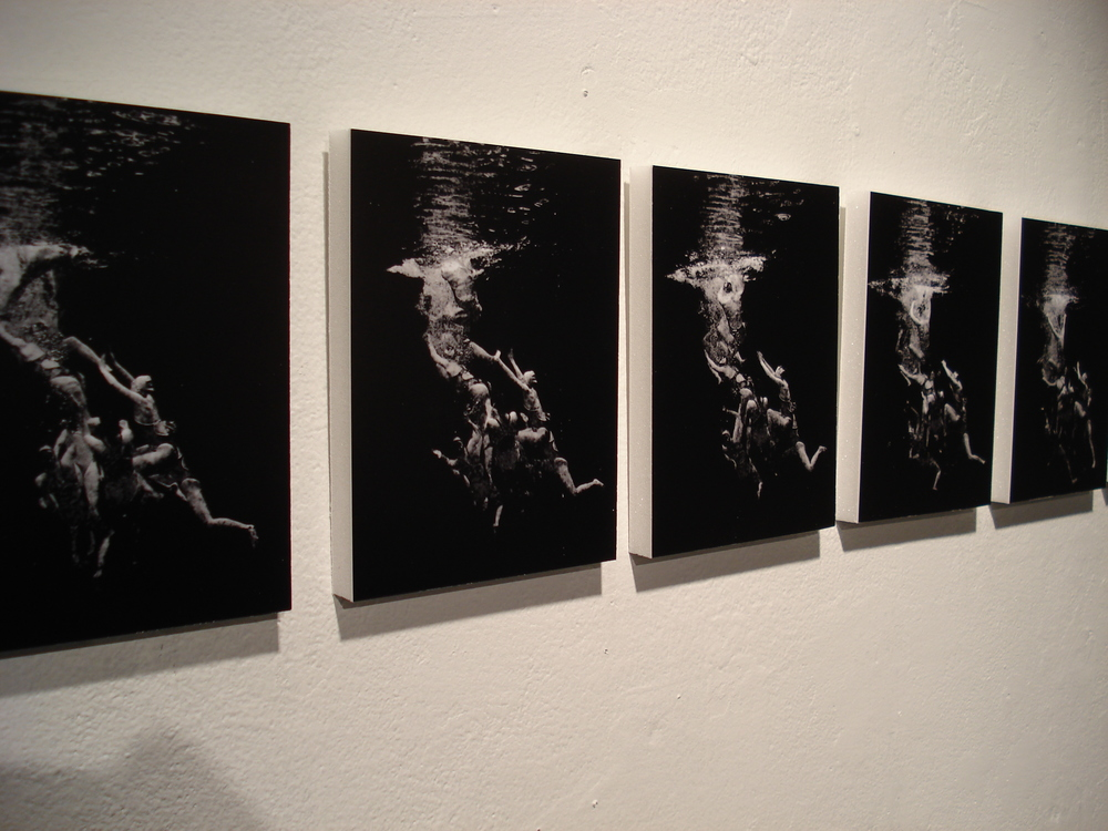 underwater art synchronized swimmers gallery