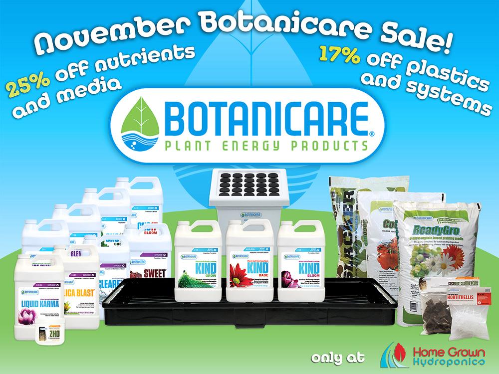 Botanicare Nutrients Promo