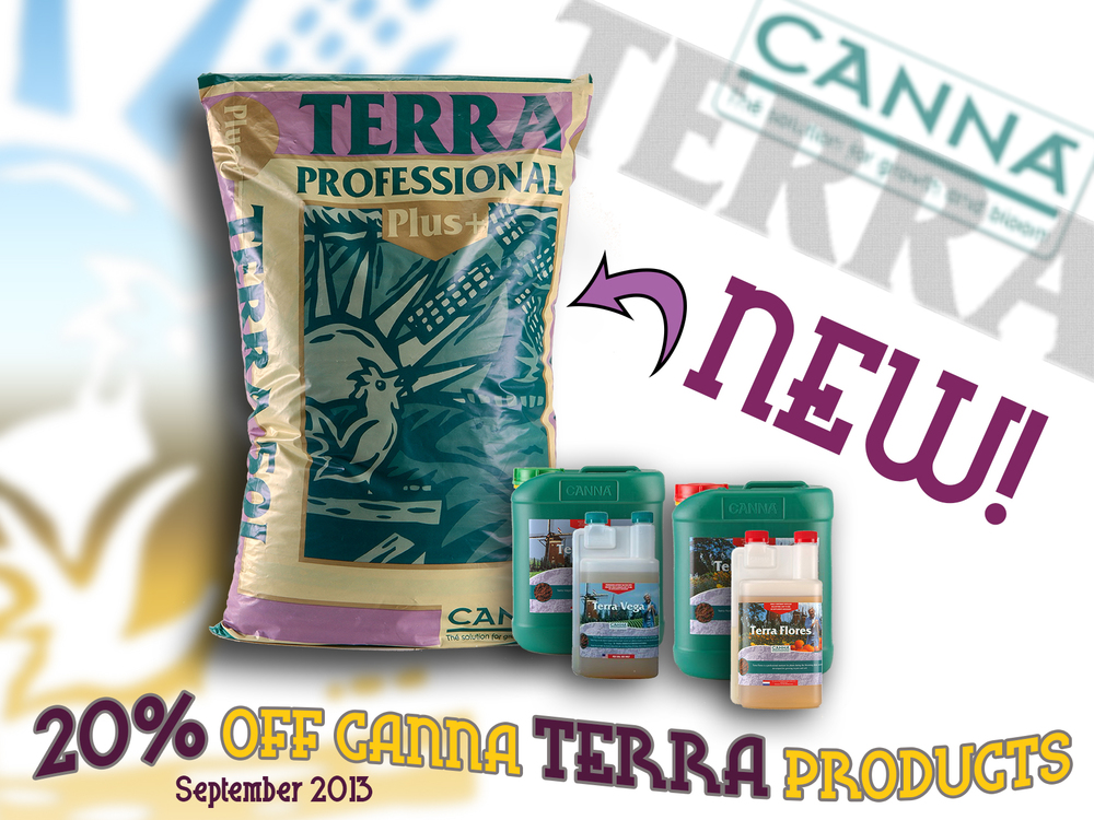 Terra Potting Mix Promo